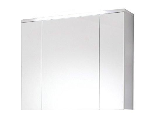 Spiegelschrank XXL in weiss, 96 cm