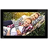 nixplay 18.5 inch Wi-Fi Cloud Digital Photo Frame. iPhone & Android App, Email, Facebook, Dropbox, Instagram, Picasa - W18A