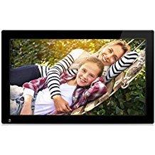 Nixplay 47 cm (18,5 Zoll) WLAN Cloud Digitaler Bilderrahmen. iPhone und Android App, E-Mail, Facebook, Dropbox, Instagram, Picasa. Übertragung auch über SD-Karten und USB.