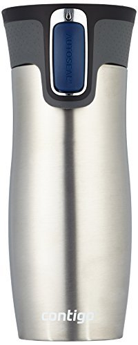 Contigo 571007 Stainless Steel Travel Mug Silver...