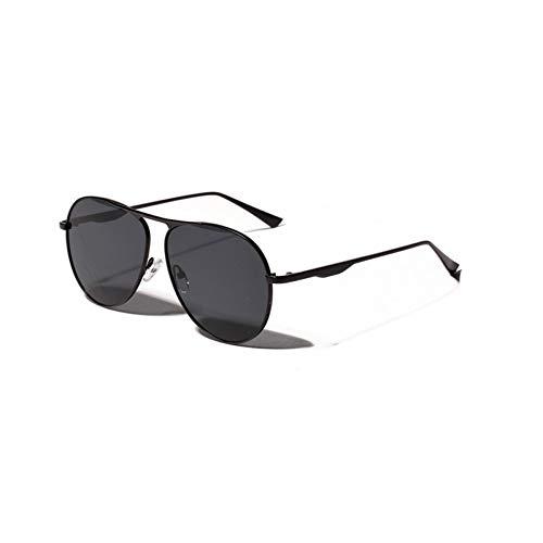 YLNJYJ Sonnenbrillen Metall Red Frog Spiegel Sonnenbrille Frauen Vintage Pilot Retro Großes Gesicht Großen Rahmen Brille Uv400 Schutz Brillen