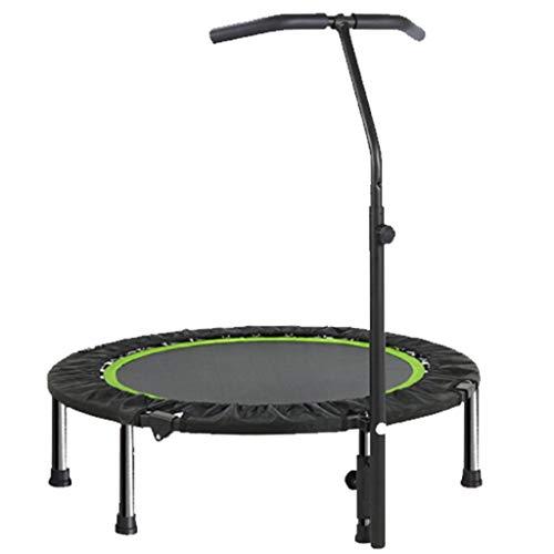 Trampolino da fitness indoor da 40 pollici - con manico - mini trampolino - pieghevole - portata massima fino a 200 kg