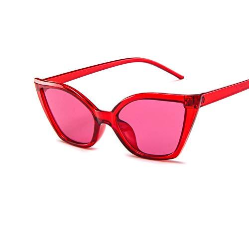 WUJIEXIAN-JXL Gläser Vintage Retro Cat Eye Sonnenbrillen für Frauen wenig Designer Shades Glasses9007 Sonnenschutz (Color : White)