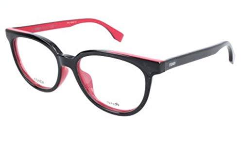 Fendi Damen FF 0122/F MFQ/16-51-16-140 Brillengestelle, Schwarz, 51
