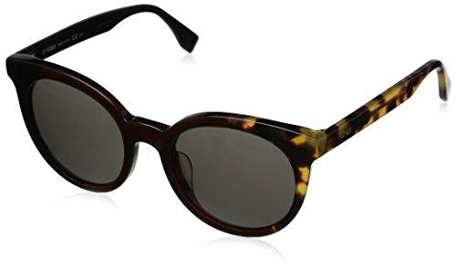 Fendi occhiali da sole ff 0064/s nr occhi di gatto, donna, mxu