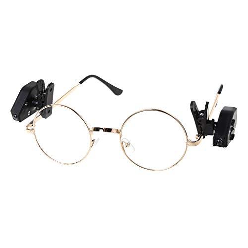 Zoom IMG-1 hergon 2pcs led degli occhiali