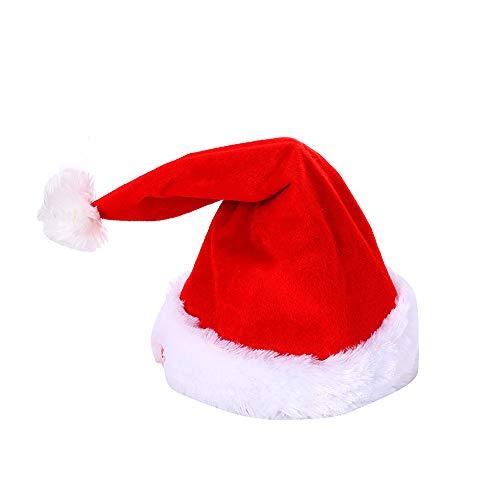 Elektrische Tanz-Mütze, Weihnachtsmütze, elektrisch, tanzend, singend, Plüsch,...