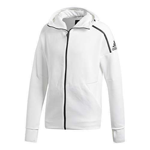 adidas M ZNE HD FR Sudadera, Hombre, znewht, XL