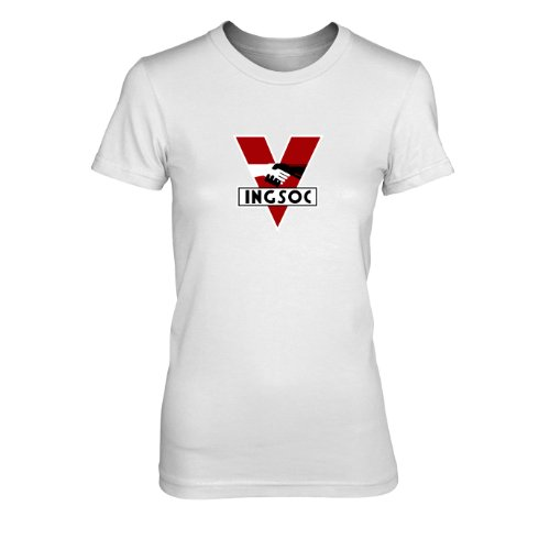 INGSOC - Damen T-Shirt, Größe: XL, Farbe: ()