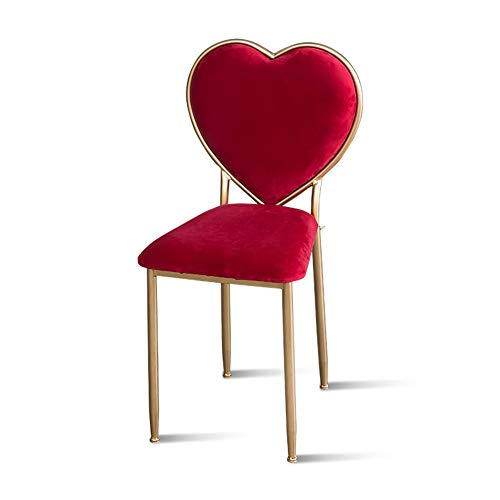 Stool sgabello per principessa/seggiolino per trucco/comodino / panca imbottita, ferro art/tessuto in velluto/imbottito, per cabina/soggiorno / camera da letto, 5 colori