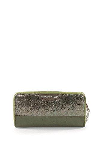 george-gina-lucy-damen-geldborsen-borsen-brieftaschen-portemonnaies-polyurethan-grun-19-x-95-x-2-cm-