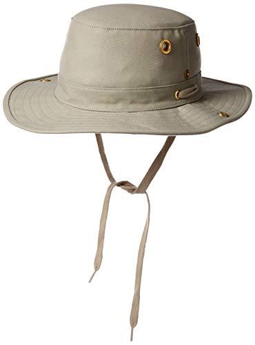 Tilley Snap-Up Hut mit Krempe - Khaki - Unisex - Es ist seit vielen Jahren EIN Liebling Kunden