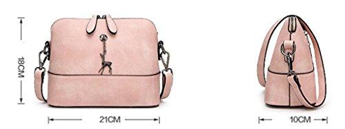 Keshi neuer Stil Damen Handtaschen, Hobo-Bags, Schultertaschen, Beutel, Beuteltaschen, Trend-Bags, Velours, Veloursleder, Wildleder, Tasche Grau