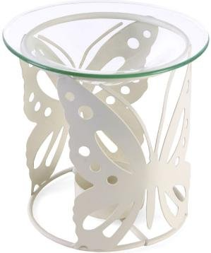 Cream-Metal-Oil-Burner-Butterfly-Design-Fragrance-Oil-Burner