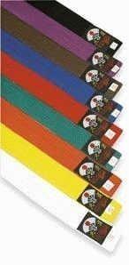 Senioren Kostüm Für - OSG Neu Karategürtel Einzeln Farben Kostüm Senior 280cm Schwarz, 280cm