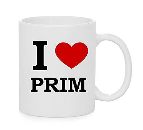 I Heart Prim (Amour) Officielle Mug