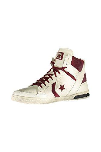 Converse Weapon Hi leather/suede unisex erwachsene, glattleder, sneaker high weiß OFF WHITE/MA