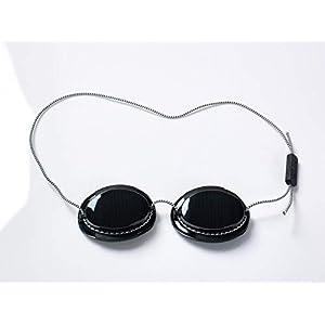 Premium UV Schutzbrille | Solarium Brille für zuverlässigen Augen-Schutz auf der Sonnenbank oder beim Sonnen am Strand | Geprüfte Qualität nach DIN 170