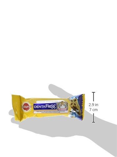 Pedigree DentaFlex Hundesnack für kleine Hunde (5-10kg), Zahnpflege-Snack mit Huhn, 12 Packungen (12 x 40 g) - 5