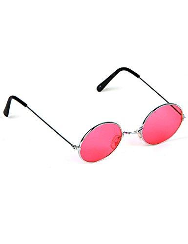 Boland BOL02592 - Gafas redondas Hippy adultos