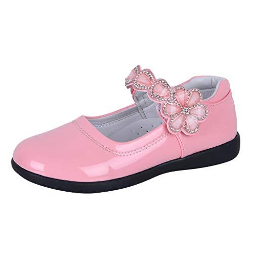 Innerternet Pumps Ballerinas Schuhe Blume Kristall Tanz Prinzessin Einzel Freizeitschuhe Prinzessin Kostüm Ballerina Festliche Mädchenschuhe Taufschuhe Schuhe mit Absatz in vielen Farben