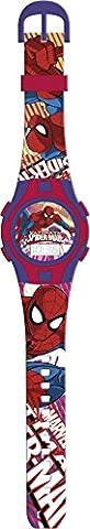 Marvel Spiderman 15216Montre de poignet numérique enfant