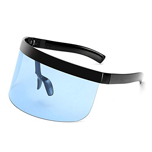 ANSKT Big Mask Glasses Sonnencreme Anti-Peeping Mask Sonnenbrille Sudden Windproof Personality Sonnenbrille @ 1