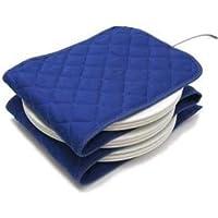 Hot Ideas Calentador de Platos Eléctrico - 12 Azul (Enchufe Eur)