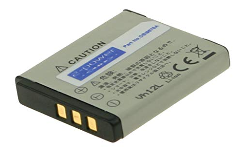 2-Power 700mAh Li-Ion (3,7V) Kamera Ersetzt Akku für NP-50 -