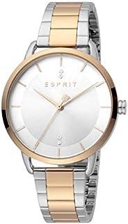 ساعة الكوارتز ميسي العصرية للنساء من اسبريت، موديل ES1L215M0115