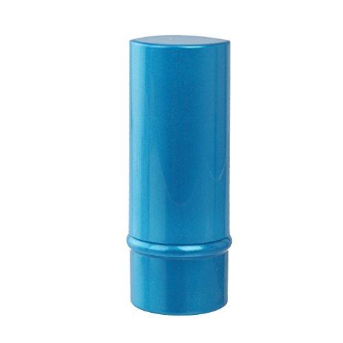 Baoblaze Pinceau Fard à Joues Rétractable Blush Télescopique Brosse Rotative avec Capuchon Maquillage Bleu