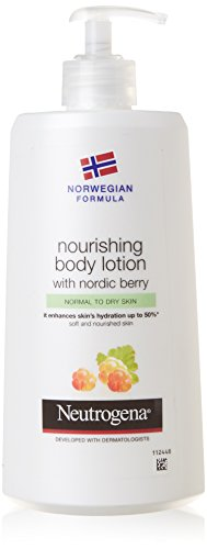 Neutrogena Norwegian Formula Nourishing Body Lotion with Nordic Berry, 400 ml