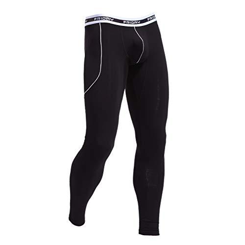 iCreat Herren Legging Leggin lange Unterhose Longjohns Underwear Energy verschiedene Farben S/M/L -