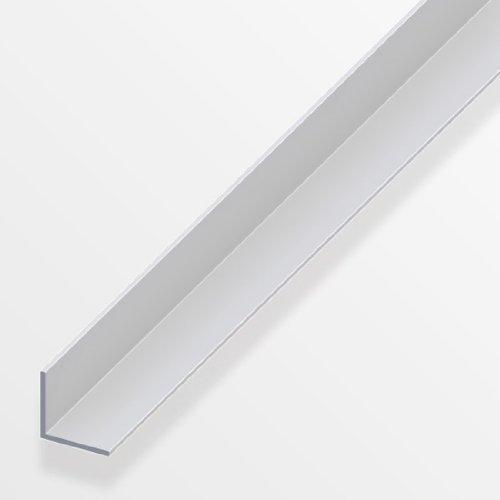 1m x 20mm Equal-seitige, silber eloxiert Aluminium