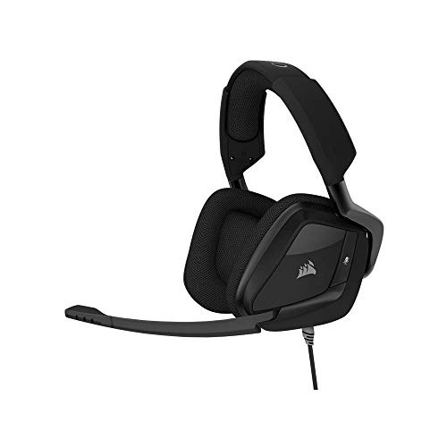 Corsair VOID PRO RGB Surround Cuffie da Gioco per PC, PS4 e XONE, USB 3.5 mm, Dolby 7.1, Carbonio