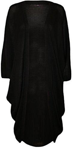 Comfiestyle - Gilet - Cardigan - Manches Longues - Femme Noir