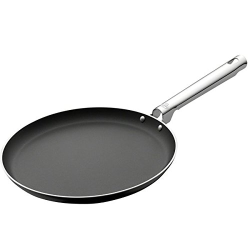 Ballarini 75000-663 Cookin'Italy Crêpes-Pfannenset, 26,7 cm, Schwarz