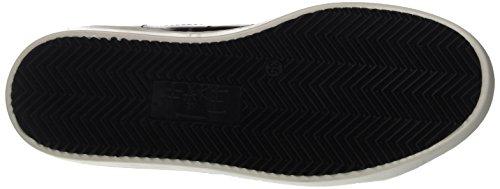 Fake By Chiodo Low F 834, Sneaker a Collo Basso Unisex-Adulto Nero (Nero/Ardesia)