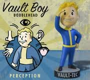 Vault Boy 111 Bobbleheads - Series One: Perception by Gaming Heads