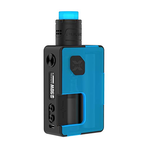 VandyVape Pulse X BF Kit 90W Box Mod Cigarrillo Electrónico,Pulse X RDA Botella 8ml Squonk Adaptador de Batería 18650 -...