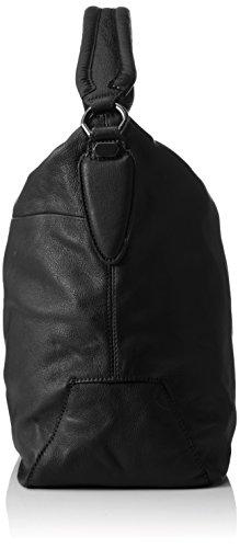 Liebeskind Berlin Yokohama, sac à main Noir - Schwarz (ninja black 9998)