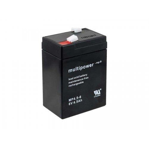 Batteria al piombo Powery (multipower) MP4,5-6