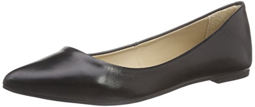 Buffalo London ZS 4857-15 CALF COUCH, Damen Geschlossene Ballerinas, Schwarz (BLACK 01), 37 EU