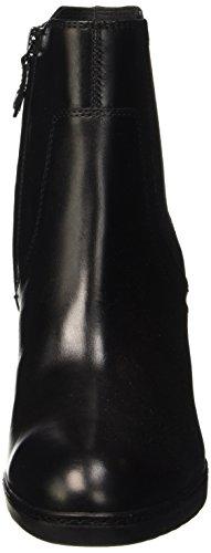 Geox D Jilson A, Bottes Classiques Femme Schwarz (BLACKC9999)