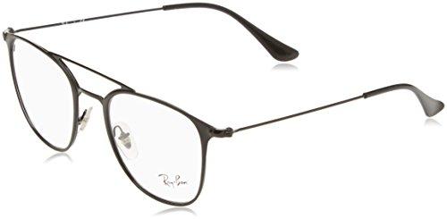 Ray-Ban Unisex-Erwachsene Brillengestell 0rx 6377 2904 50, Schwarz Matte Black