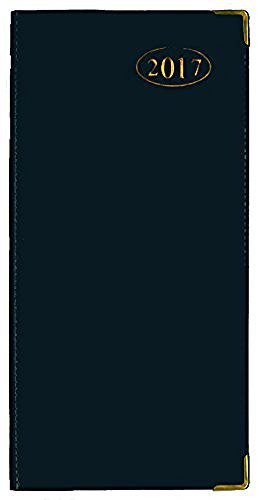tallon-2017-week-to-view-blue-slimline-business-office-diary-3634-blue
