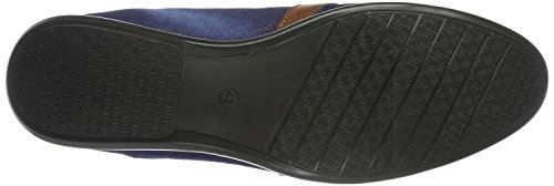 Tamboga 466-03, Chaussures à Lacets Homme Blau (Jeans Blue / Brown 32)