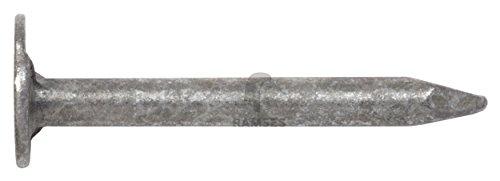 Dachpappstifte DIN 1160 2,5 x 25 mm Stahl feuerverzinkt 100 Stück