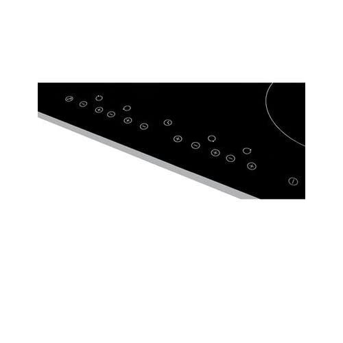 31rSwU8%2BNiL. SS500  - Russell Hobbs RH60EH402B Black Glass 59cm Wide, 4 Zone Electric Hob with Touch Control, Free 2 Year Guarantee
