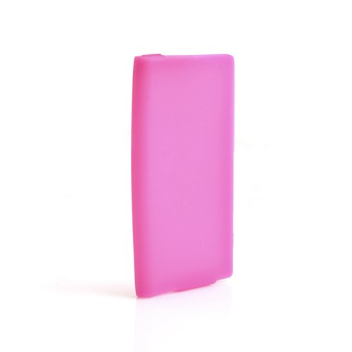 System-S Silikonhülle Skin Tasche Case Hülle Cover Schutzhülle in Rosa für Apple iPod Nano 7G Apple Ipod Nano Skin